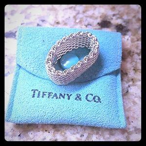Tiffany &Co mesh ring